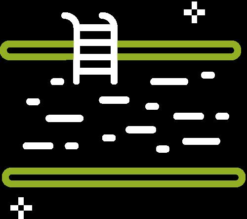 Icône qui représente un agencement extérieur