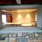 Photo de l'Aménagement d'une cuisine avec ouverture dans le mur